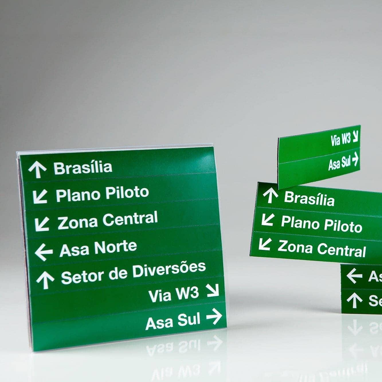 Ímãs Sinalização de Brasília