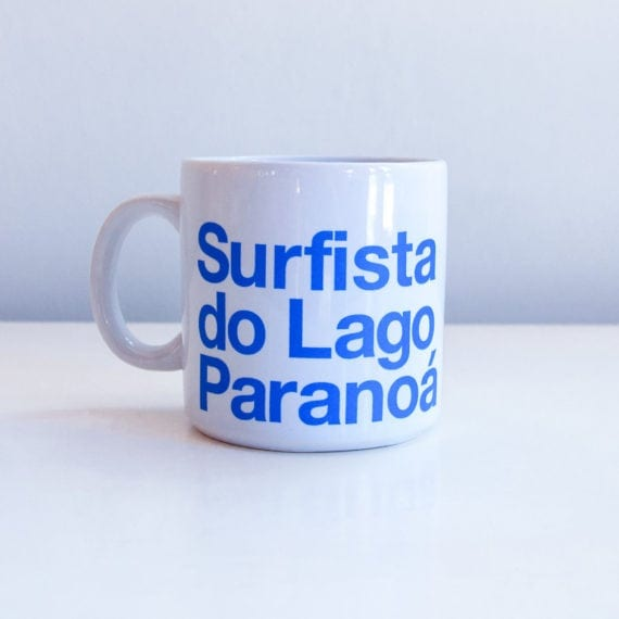Caneca Surfista do Lago Paranoá
