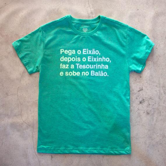 Camiseta Pega o Eixão