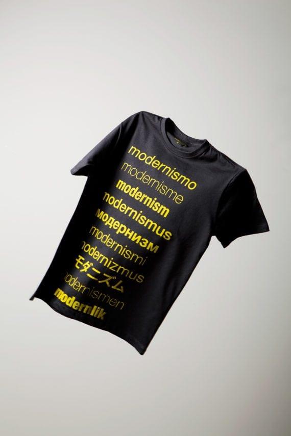 Camiseta Modernismo