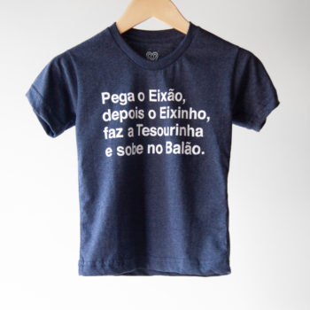 Camiseta Infantil Pega o Eixão