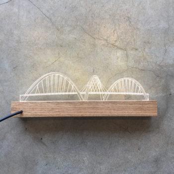 Luminária Ponte JK