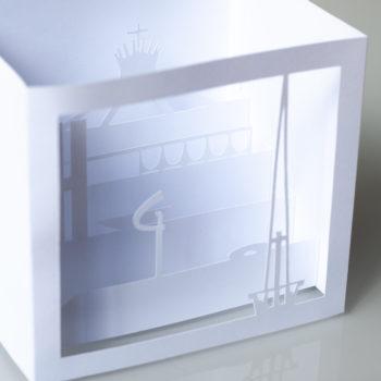 Cartão Brasília 3D