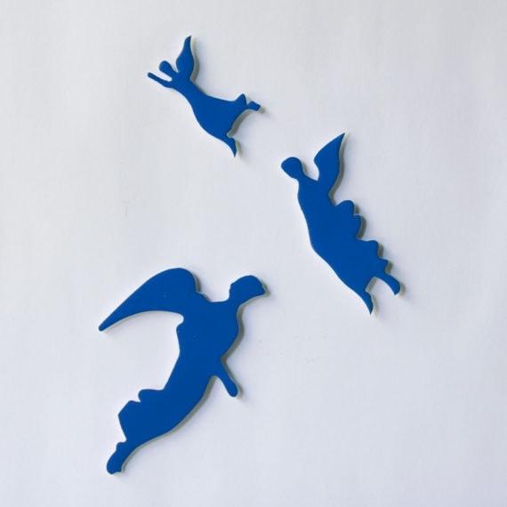 Ímãs Anjos Catedral Azul
