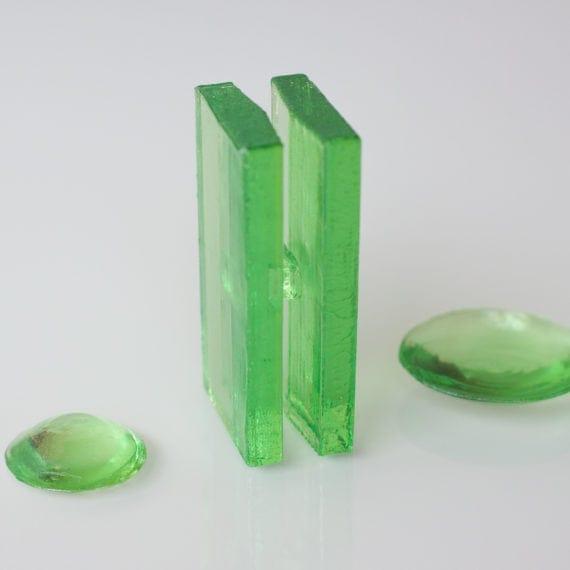Mini Escultura Congresso Nacional Verde
