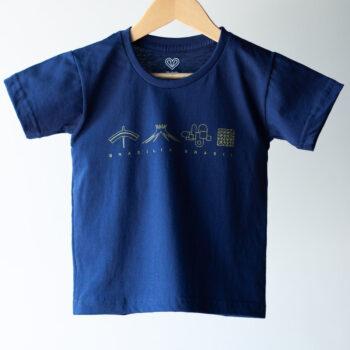 Camiseta Infantil Icones