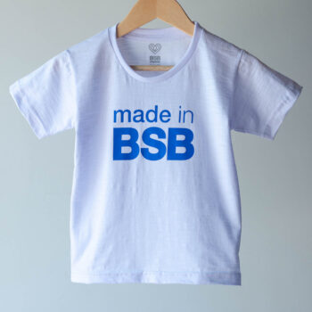 Camiseta Infantil Made in BSB