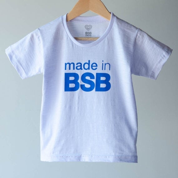 Camiseta Infantil Made in BSB