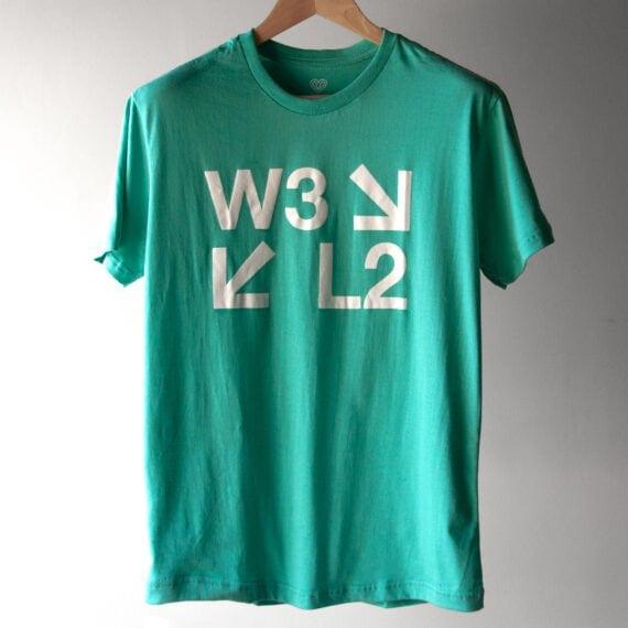 Camiseta W3 L2