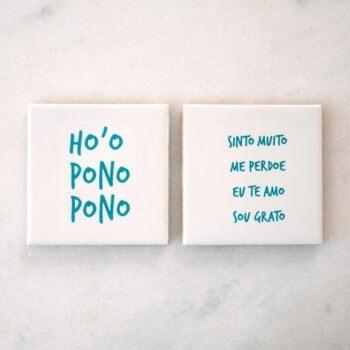 Conjunto de Azulejos Ho'Oponopono